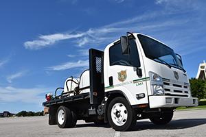 J&J Exterminating Professional Pest Control Company Truck